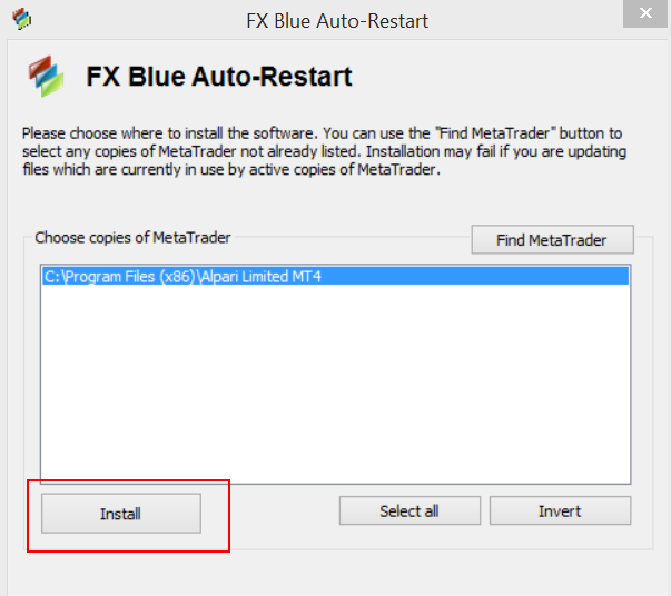 FxBlue screen1