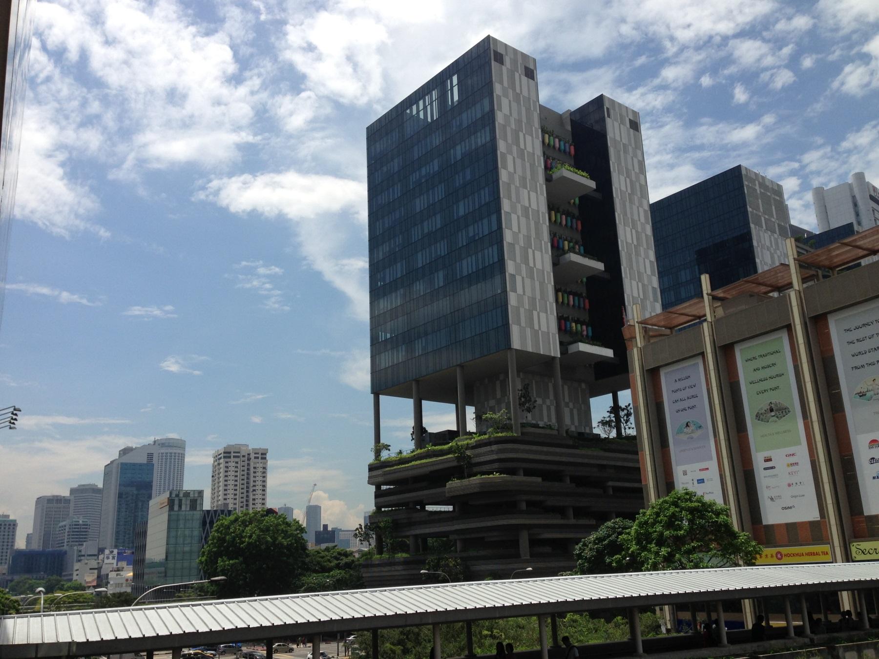 Сингапур архитектура