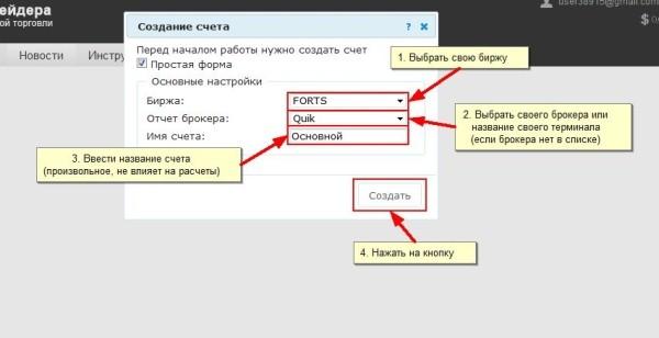 Работа с сервисом MarketStat Регистрация 2