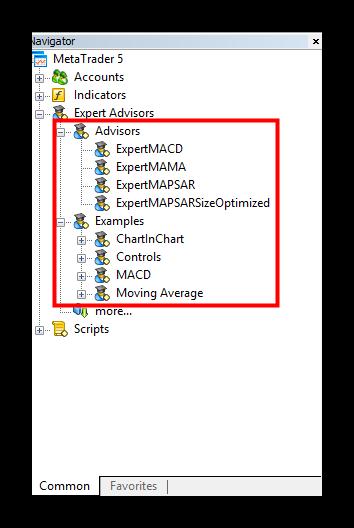 Как установить советник в MetaTrader 5 . Установка из Маркета.