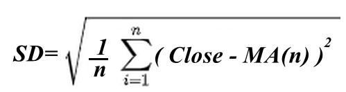 индикатор форекс forex standard deviation.